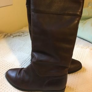 Orvis fleece-lined leather boots 8